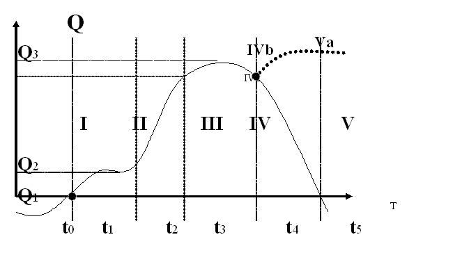 Графік-схема життєвого циклу